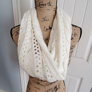 Ivory infinity scarf